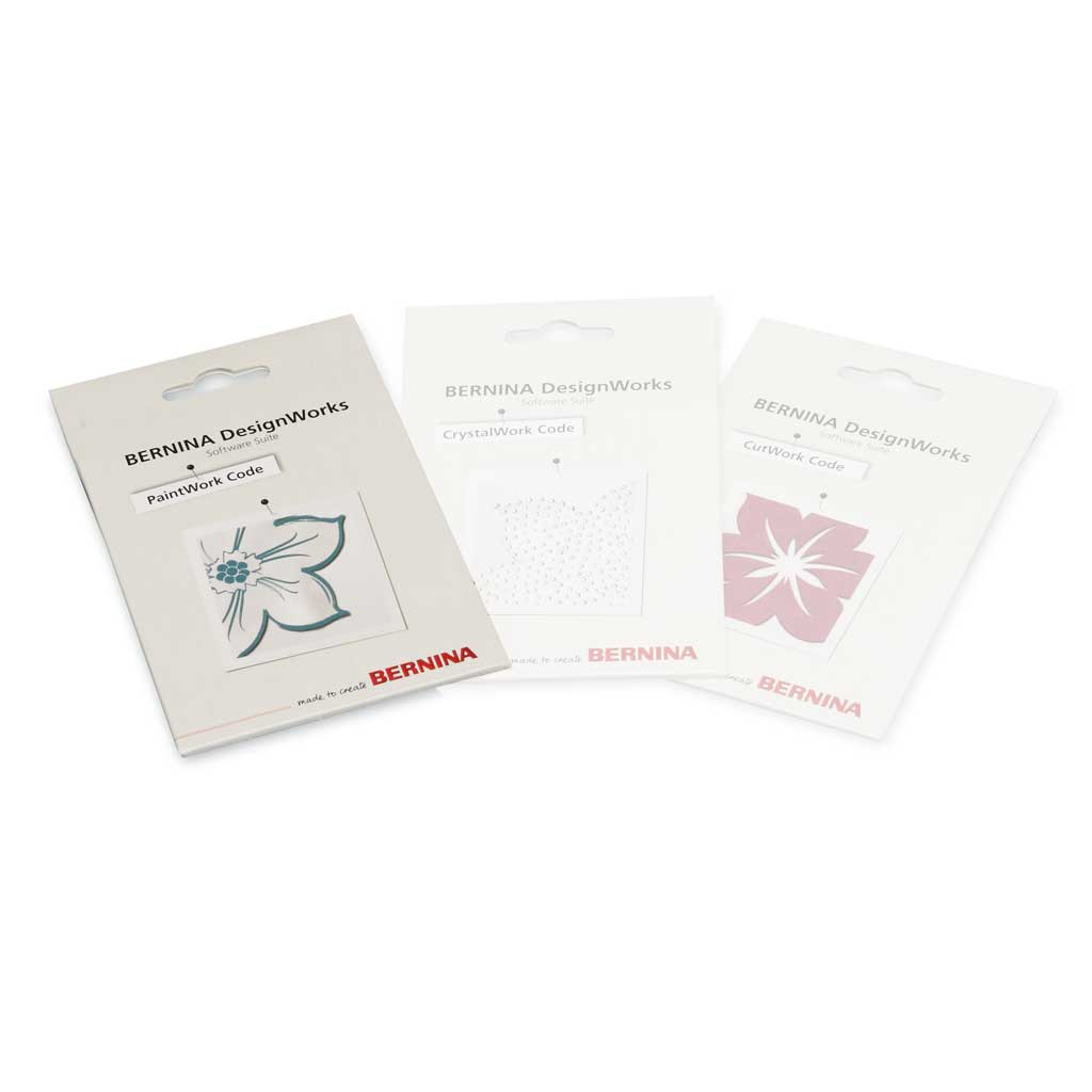 BERNINA DesignWorks Software-Codes - PaintWork-Code